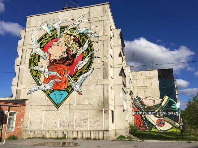 Solo and Diamond walls in Satka , Russia
