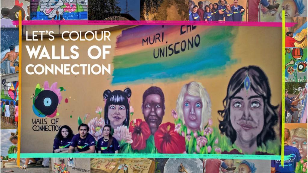Let's Colour Walls of Connection