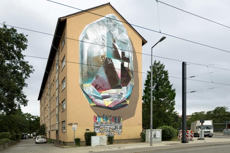 NEVERCREW - Propagating machine - Stadt-Wand-Kunst Mannheim - 2017 - 03