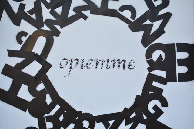 """""""Black hole sun"""" by Opiemme in Lodz"""