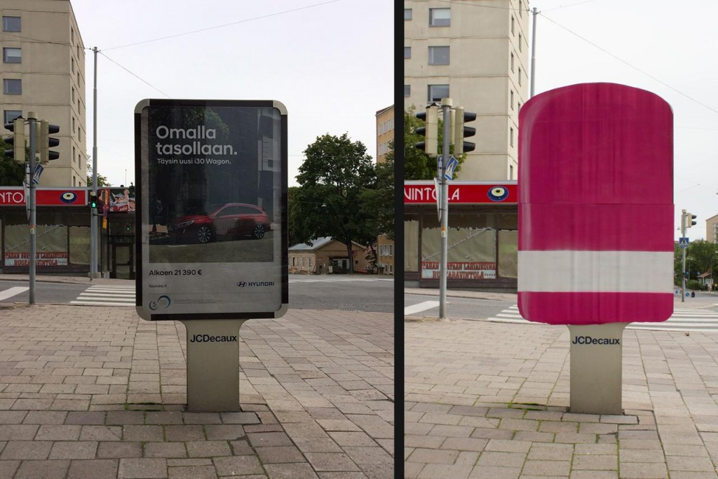 """""""JCDecaux Ice Lolly"""" by Vlady"""