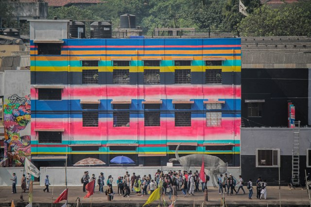 Sassoon Dock ArtProject in Mumbai aims to reintroduce lost spaces