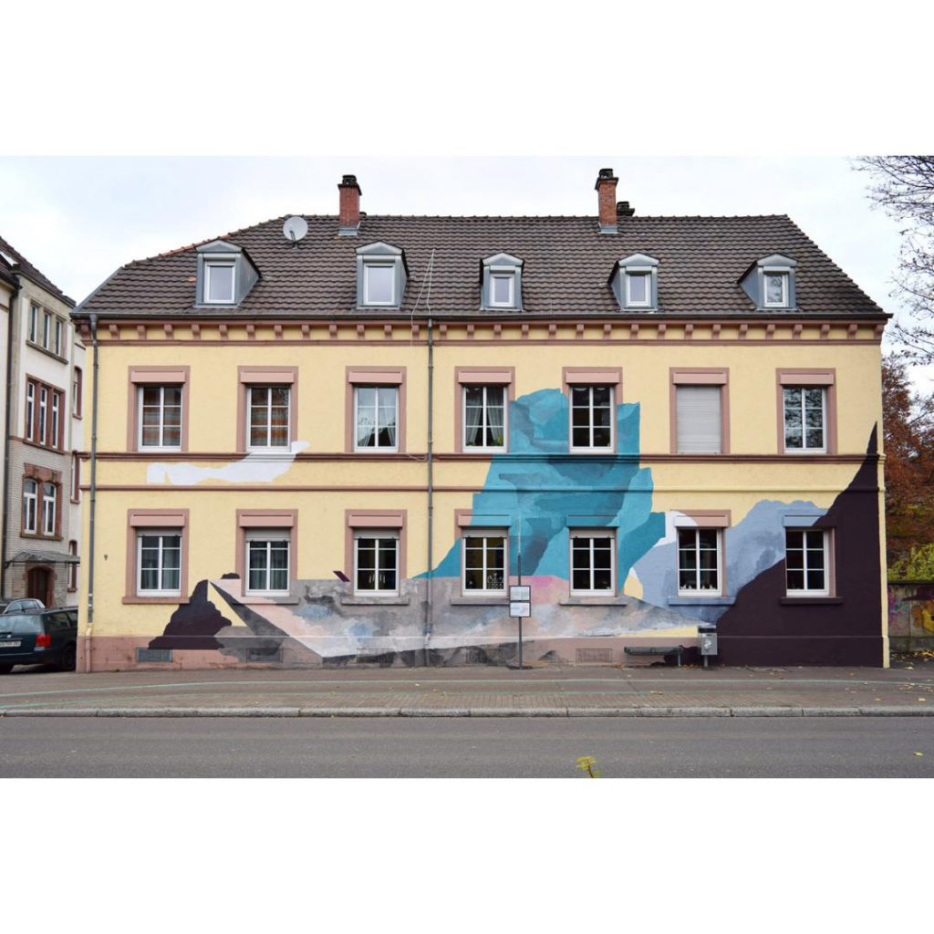 Mural by Johannes Mundinger