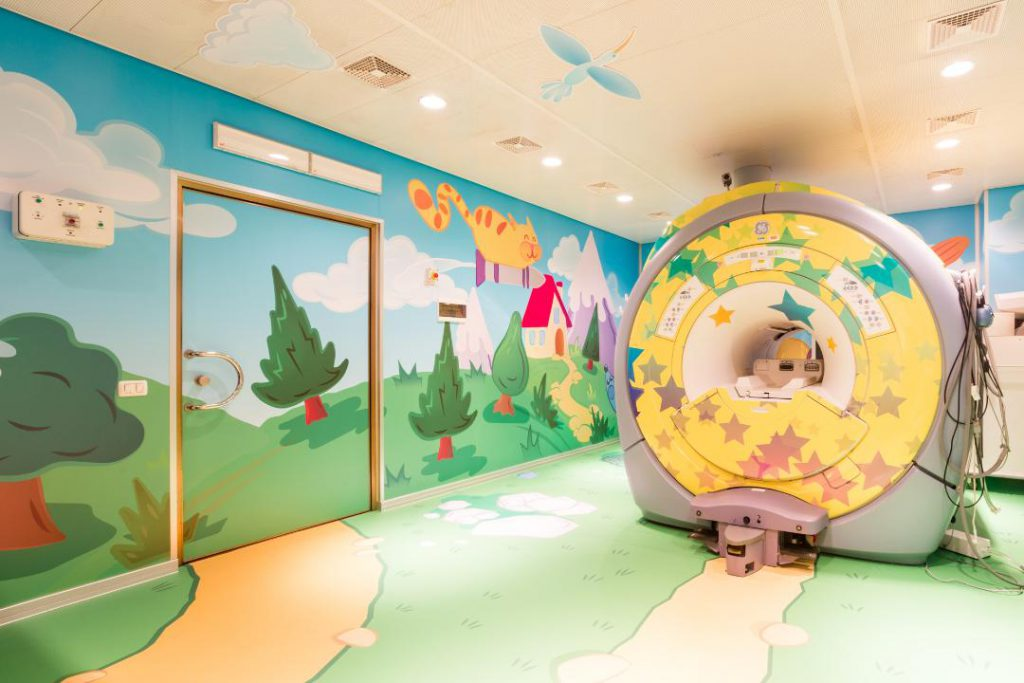 Truly Design create for children's Hospital