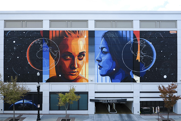 TWO FACES OF EARTH by Dourone in Salt Lake City