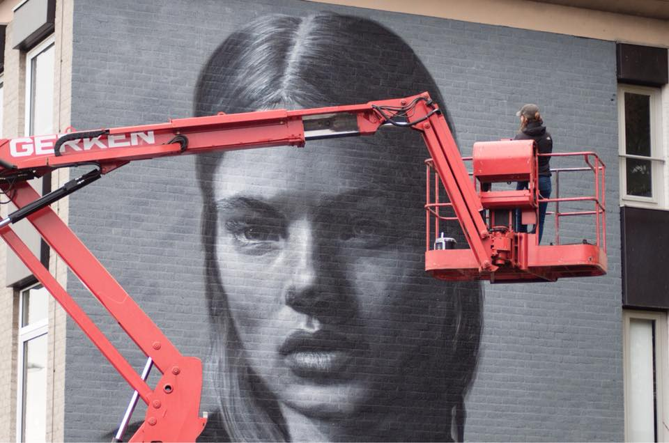 JDL street art / Judith de Leeuw