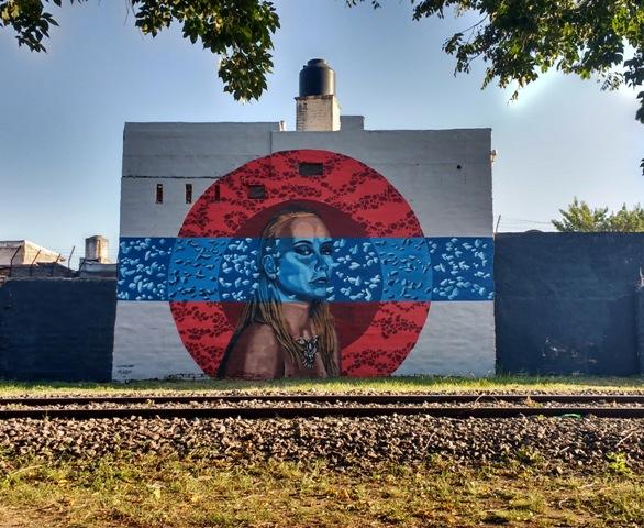 New mural by Lu Yorlano & El Lolo in Cordoba