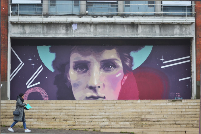 New murals by Noe Cor