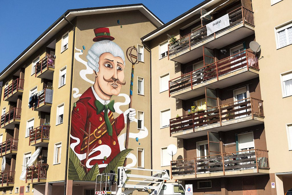 Seacreative New Wall for WARAL – Urban Art Project