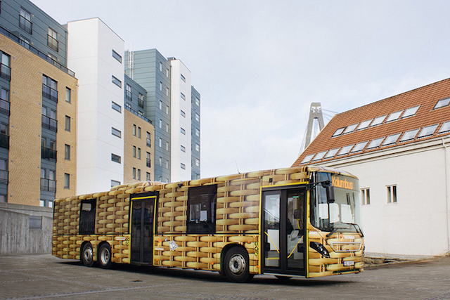 Ampparito bus for Nuart Festival Series of Street Art Buses