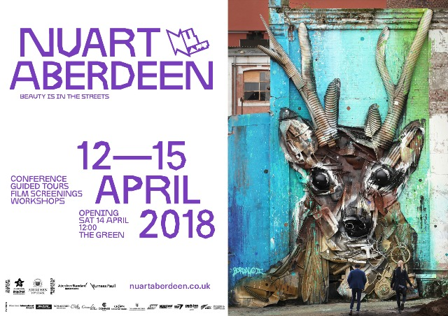 Nuart Aberdeen 2018 – A Revolution of the Ordinary