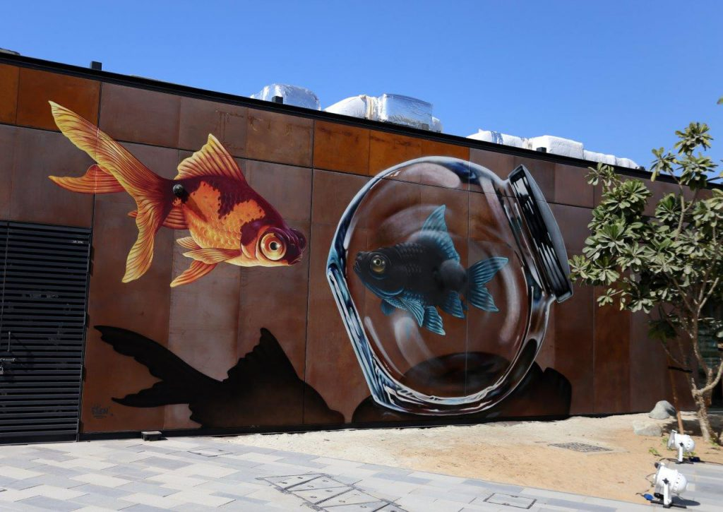 La Mer turns into 'open air canvas' for the world's best street art