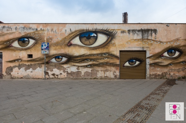 My Dog Sighs' unveils artwork for Forgotten Project in Roma