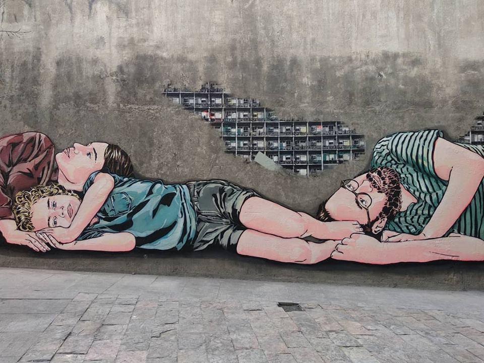 4 murals for Urvanity in Madrid