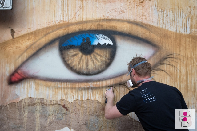 'My Dog Sighs' joins the Forgotten Project in Rome