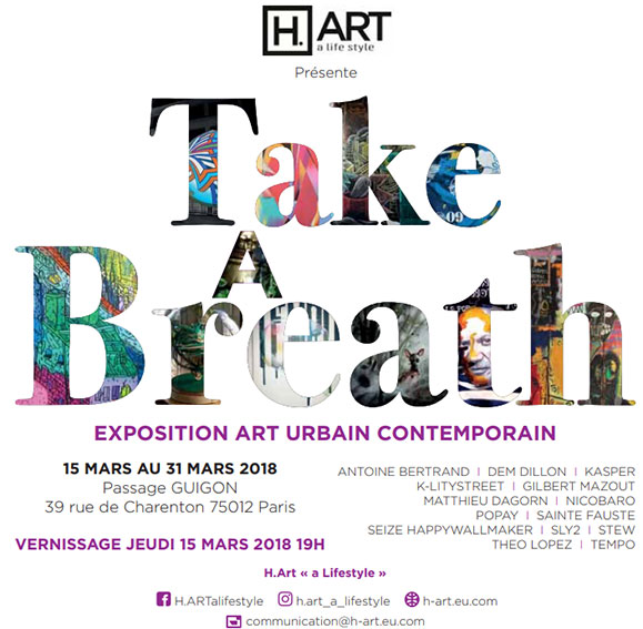 """Why don't you """"take a breath"""" in Paris this week ?"""