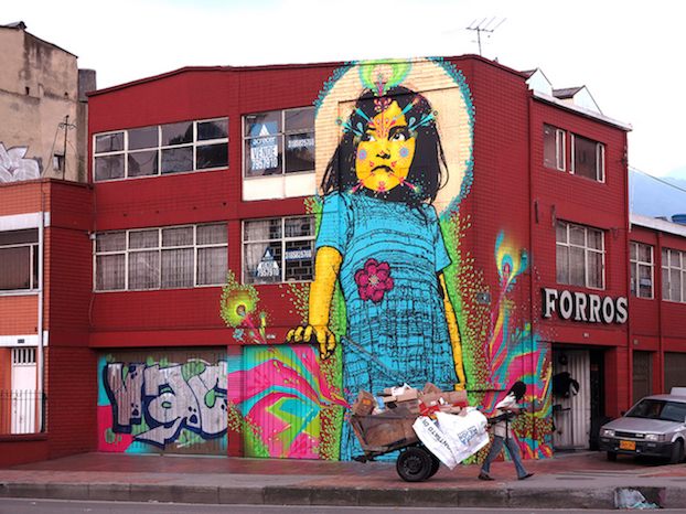 New Stinkfish piece in Bogotá