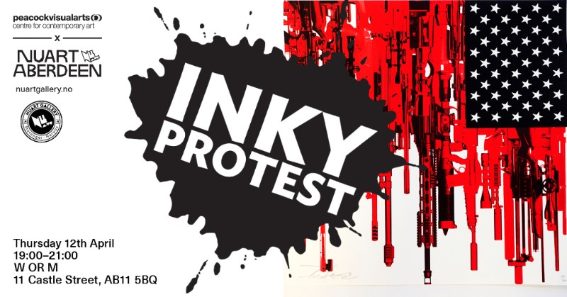 """""""INKY PROTEST"""""""