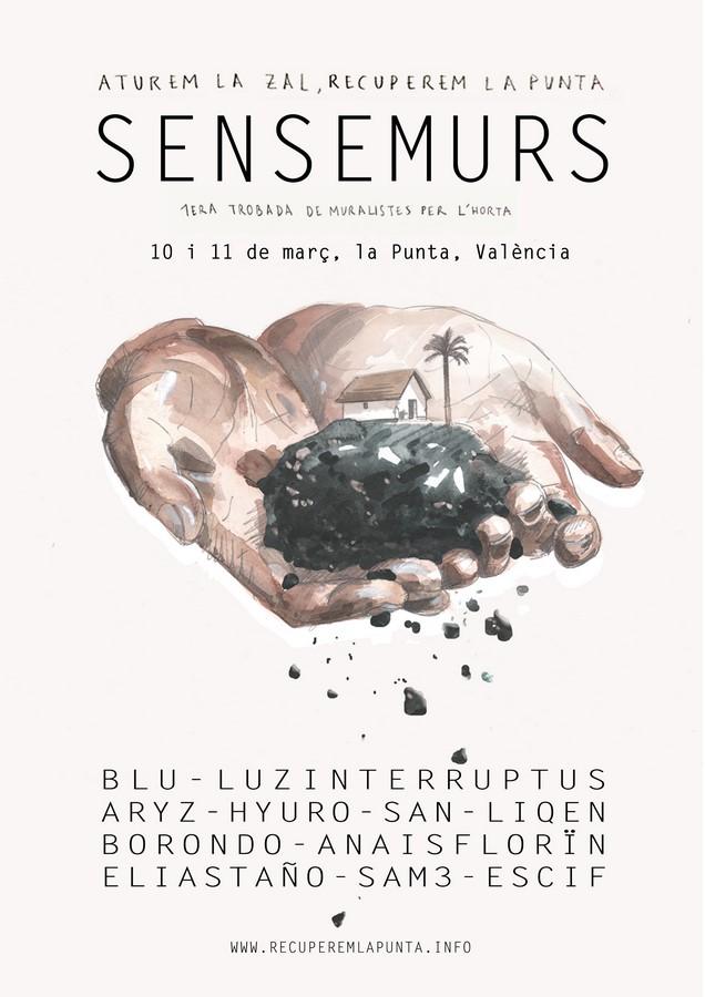 SENSEMURS: 1st Meeting of Muralists in support of La Huerta