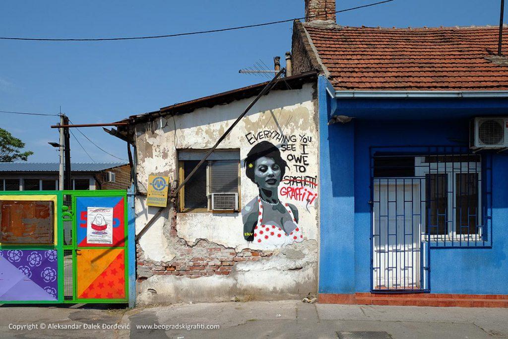 """Aleksandar Djordjević """"Street Art Belgrade"""" book signing"""