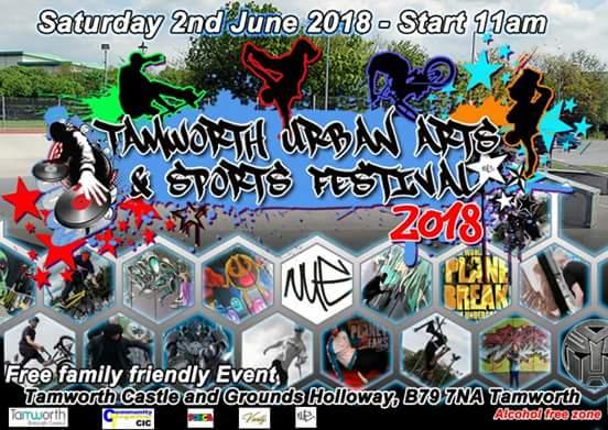 Tamworth urban arts and sports festival