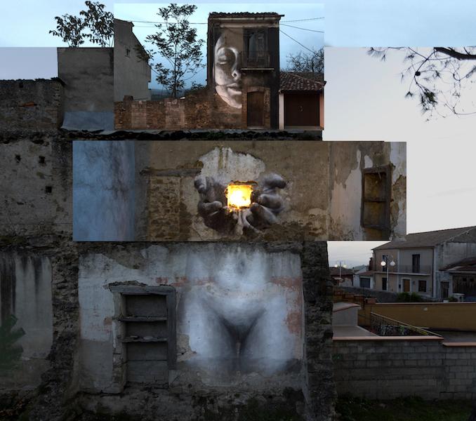 """GENESI"" new mural of Bosoletti in Italy"