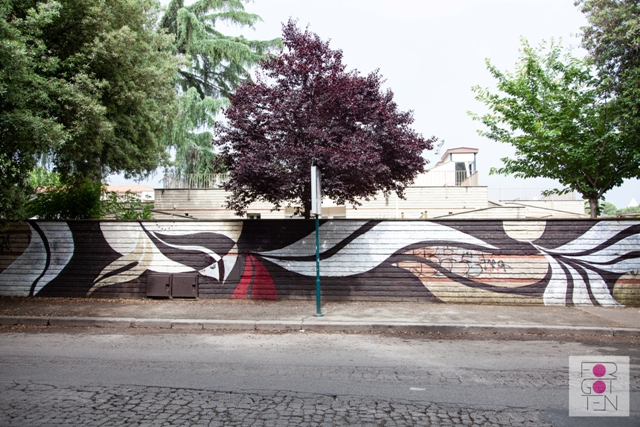 Lucy McLauchlan in Rome for the first time with Forgotten Project