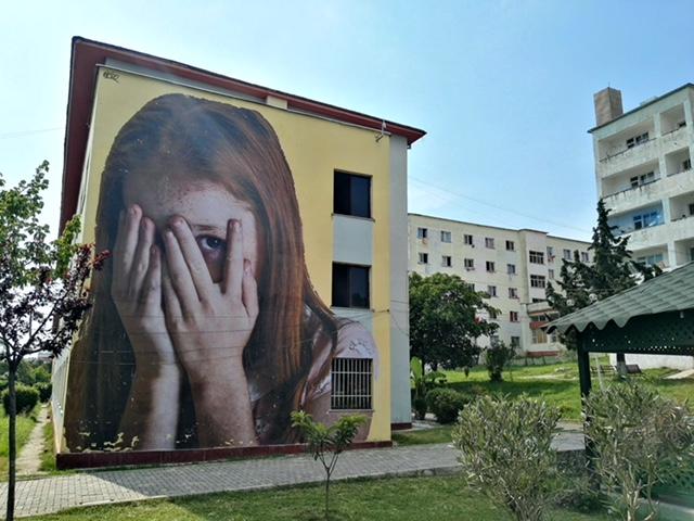 """Bifido """"Girl just wanna have fun"""" in Tirana"""