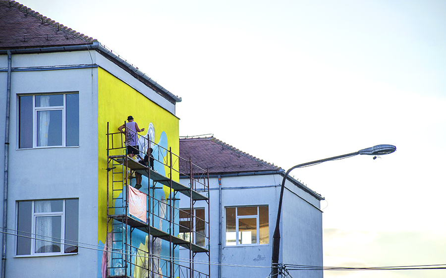 New Art Works for Sibiu Streets in Romania