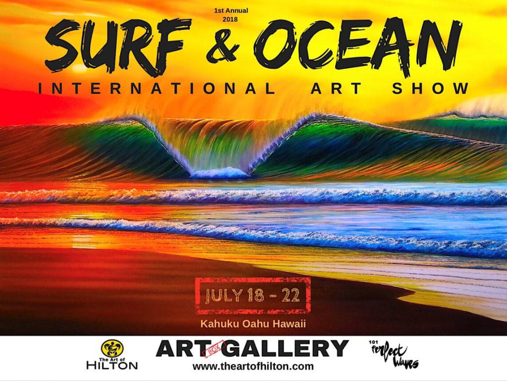 1st Annual Surf & Ocean – International Art Show