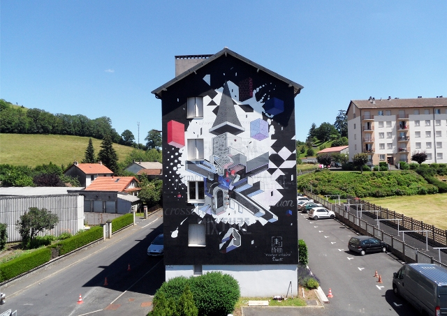 ETNIK in Aurillac (France) with TEXTURE URBAINE