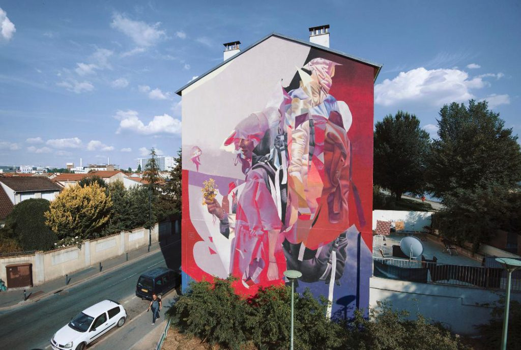 TelmoMiel New mural in Saint-Denis, France