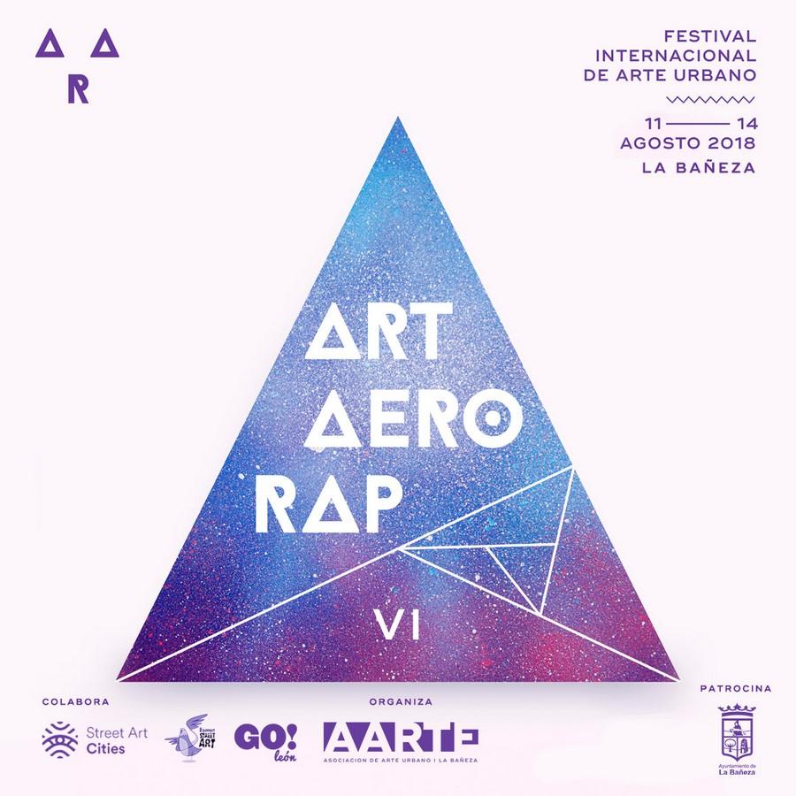 VI Festival of Urban Art ART · AERO · RAP