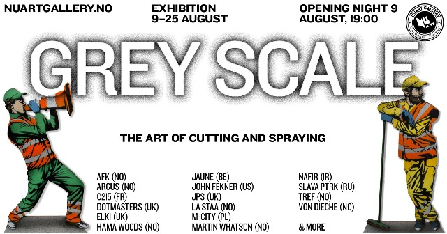 ''Grey Scale: The art of cutting and spraying""