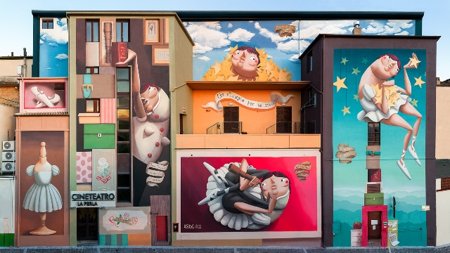 Zed1 for Veregra Street Festival in Montegranaro