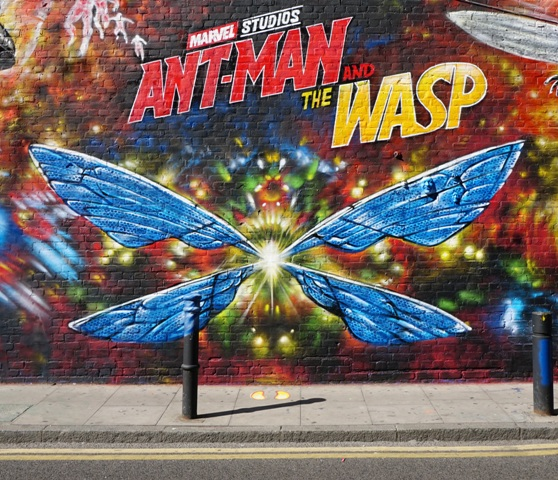 Huge new Ant-Man and the Wasp mural by Jim Vision