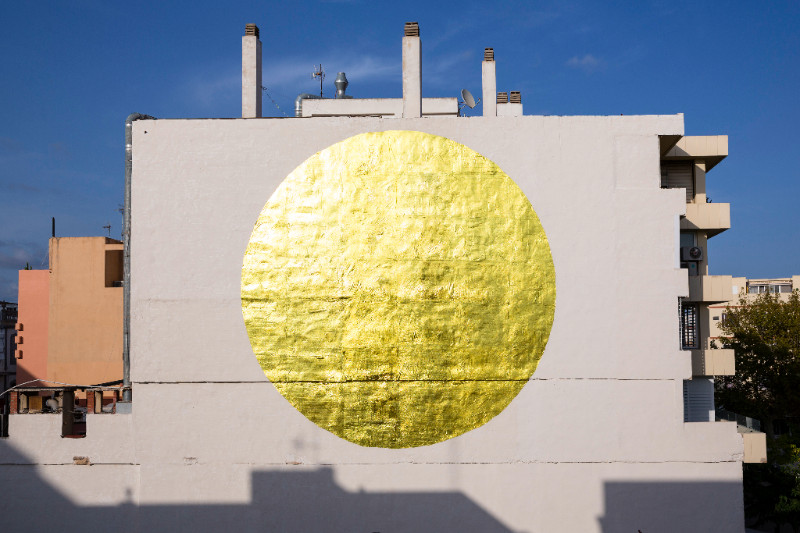 SpY`s SUN for HOPE Massive urban installation