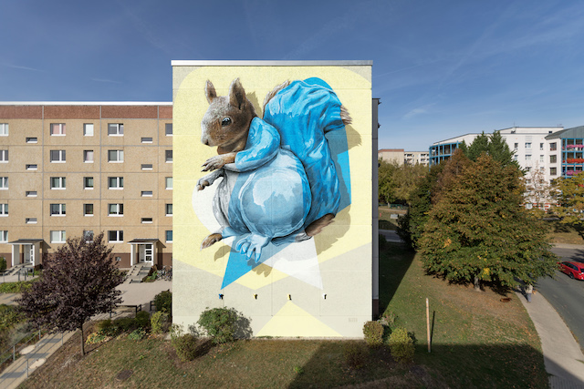 Nevercrew giant Squirrel in Germany