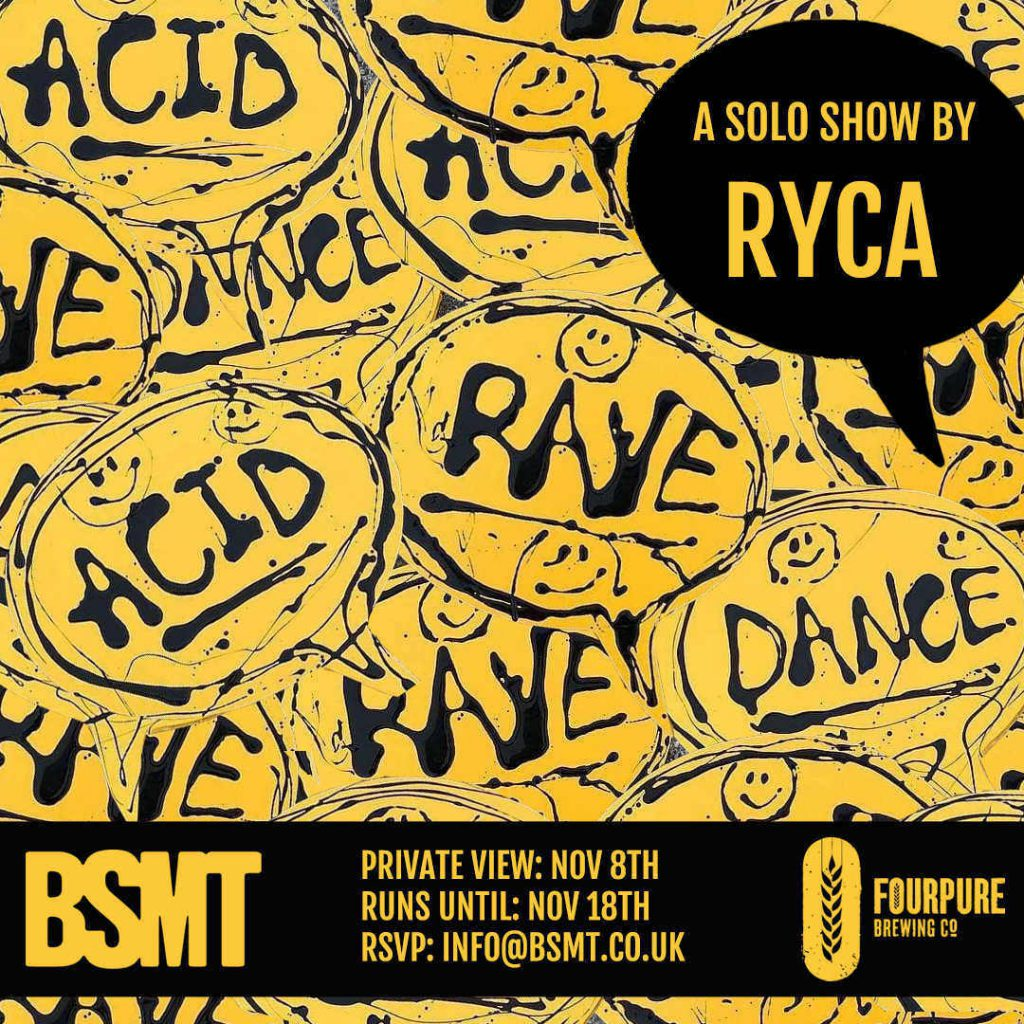 DANCE, ACID, RAVE by RYCA