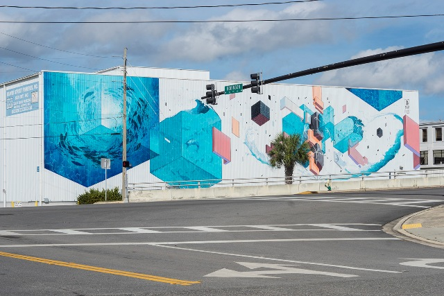 Etnik's wall in Jacksonville, Florida