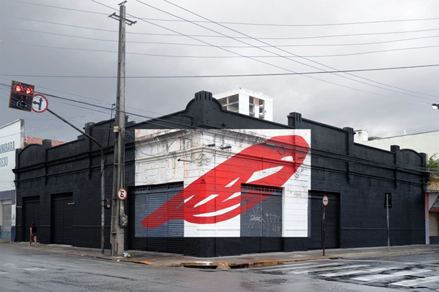 New wall by Elian Chali in Brasil