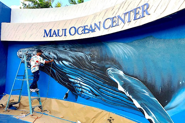 The Muralist and the Whale: Painting a Sense of Place