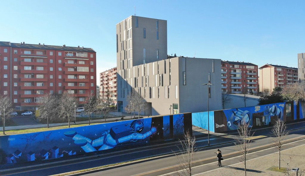 OZMO – ZED1 – RANCY murals in Milan