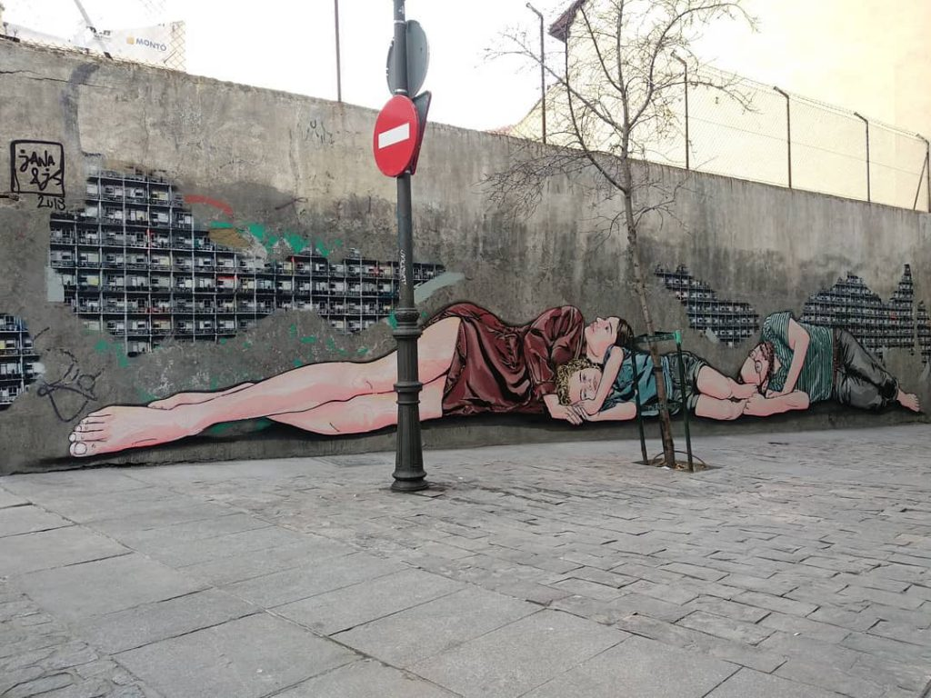 2018 in pictures by Madrid Street Art Project
