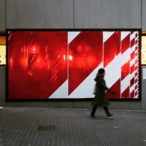 Azar mural in Barcelona by Margalef
