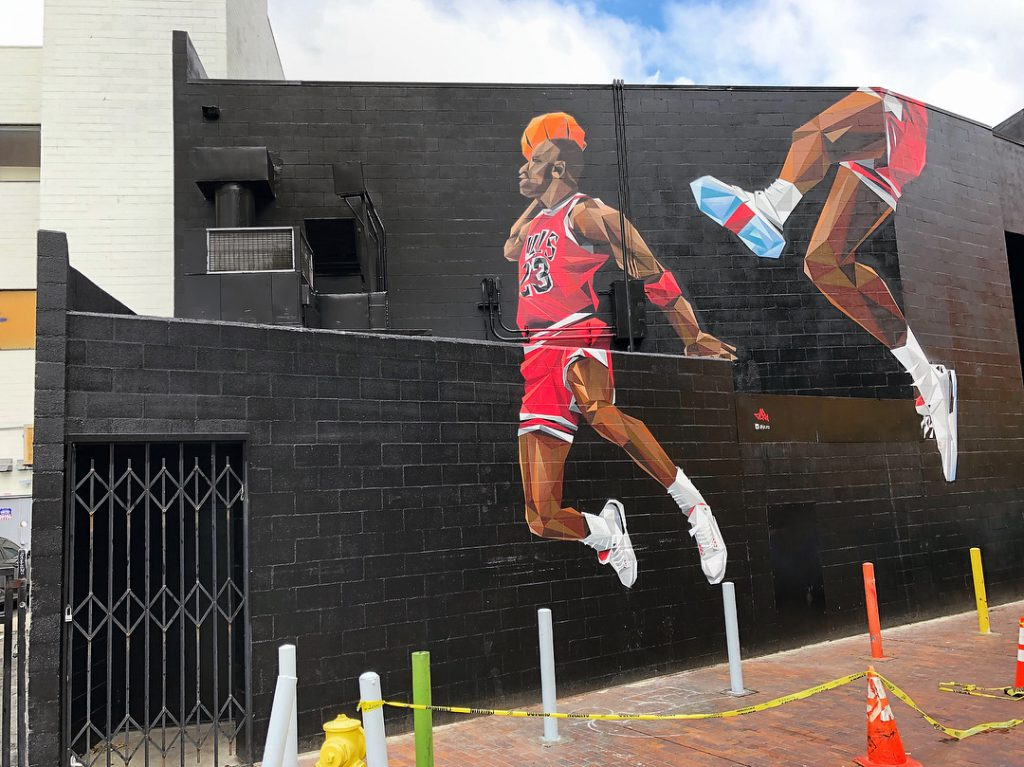 Four Murals that Perfectly Capture NBA's Influence on Street Art