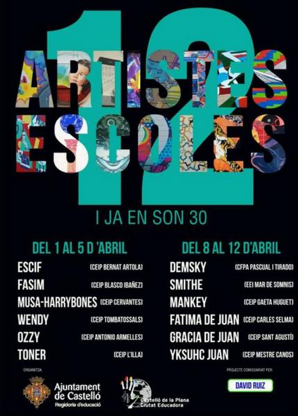 12 ARTISTES 12 ESCOLES