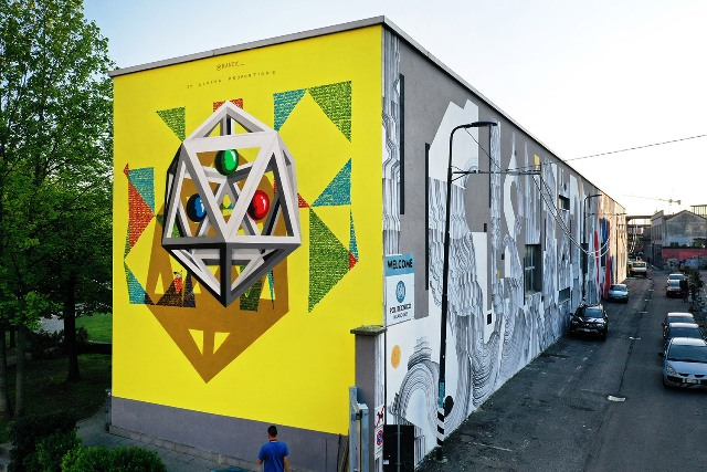 POLI Urban Colors project in Milan