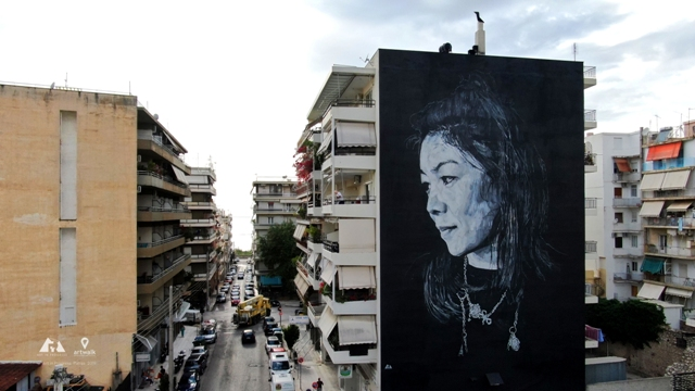 ECB Wall for ArtWalk4 in Patras