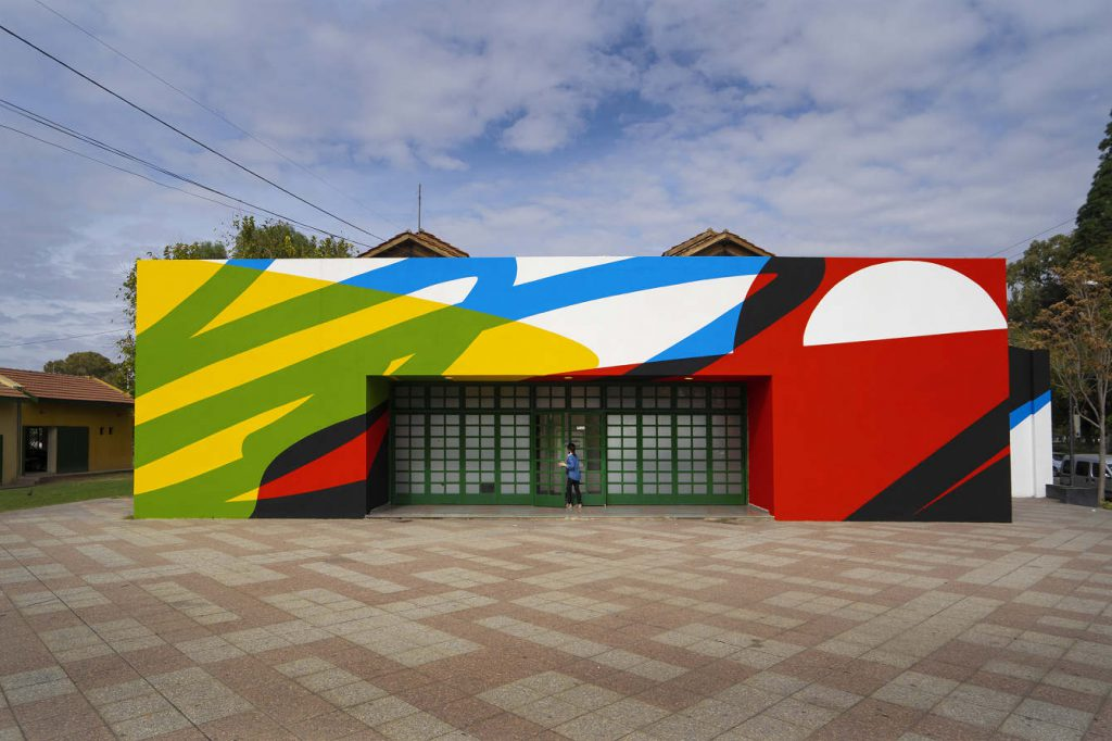 Elian Chali new mural in San Juan, Argentina